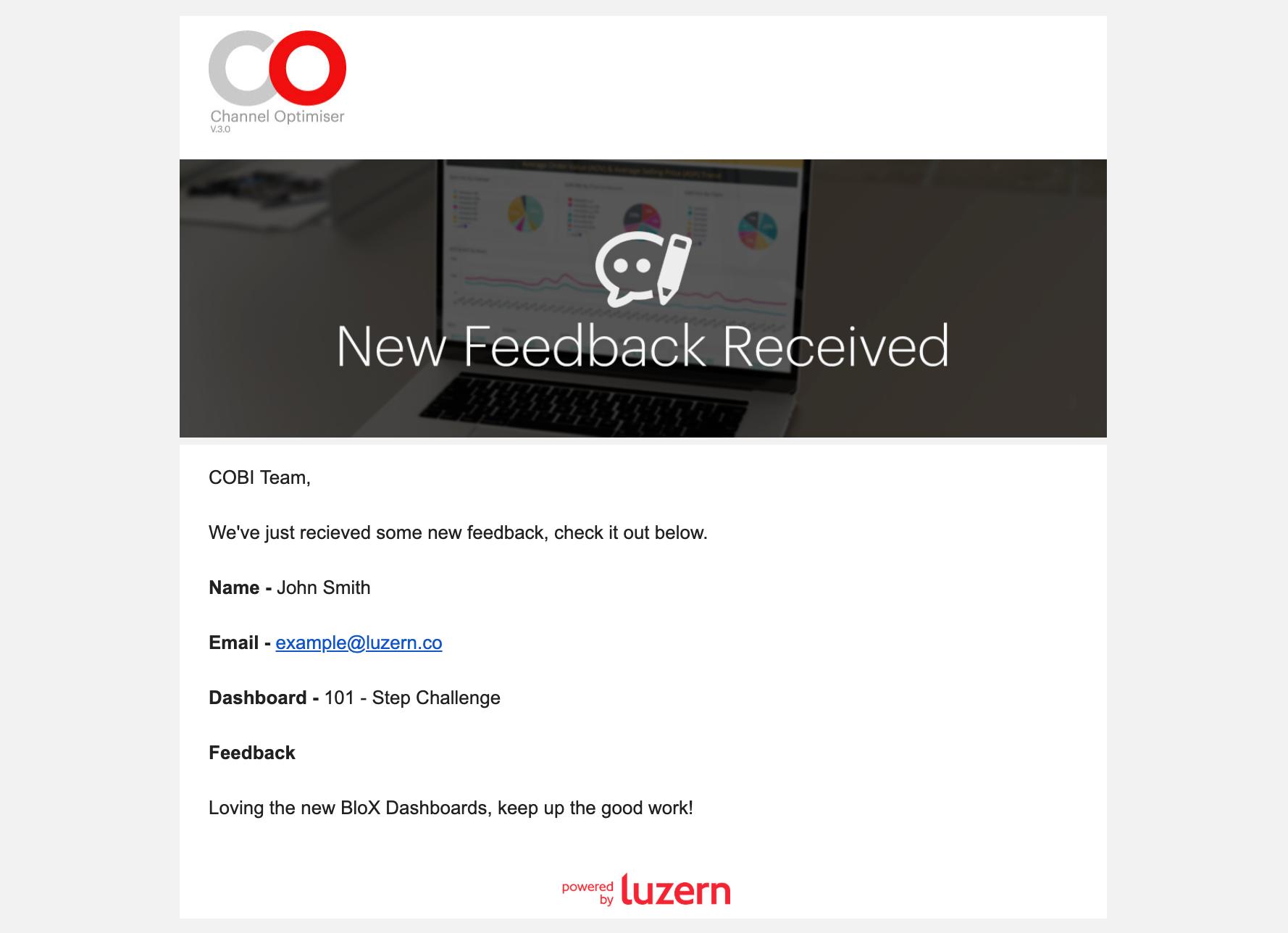 Feedback-Update-Mail