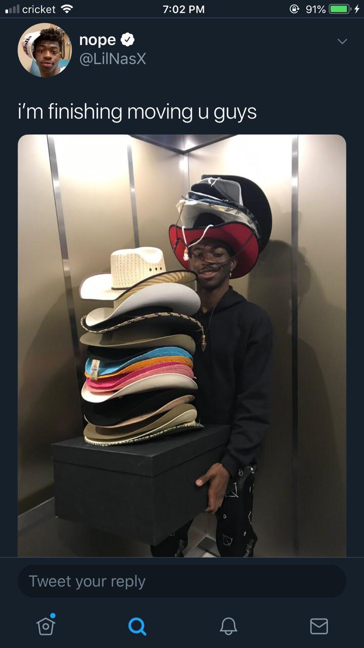 lil nas x Moving