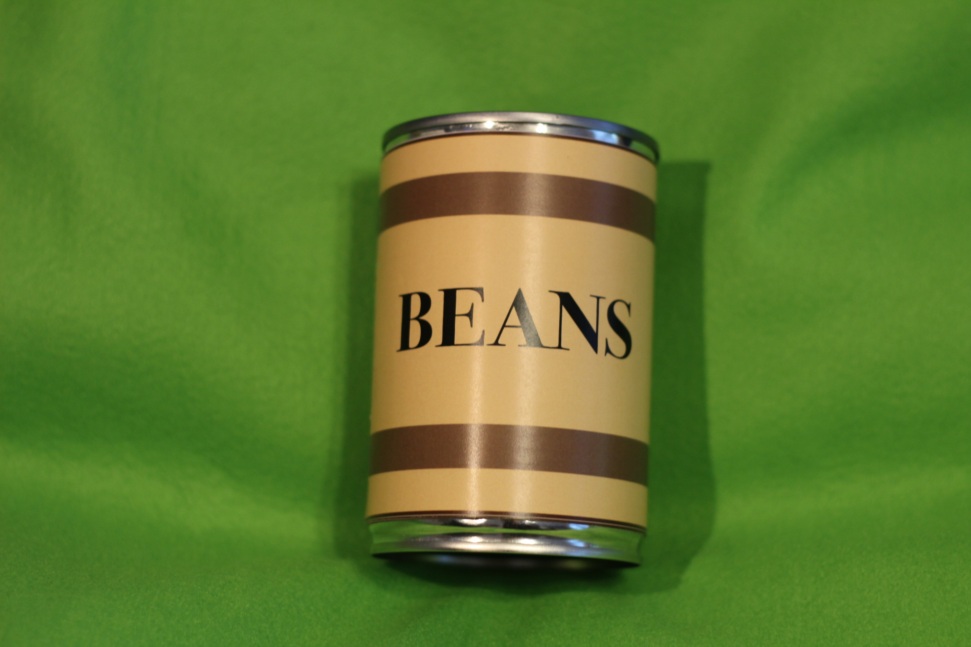 Bean Can Green Screen