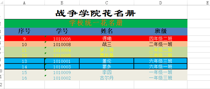 sheet2导出结果截图