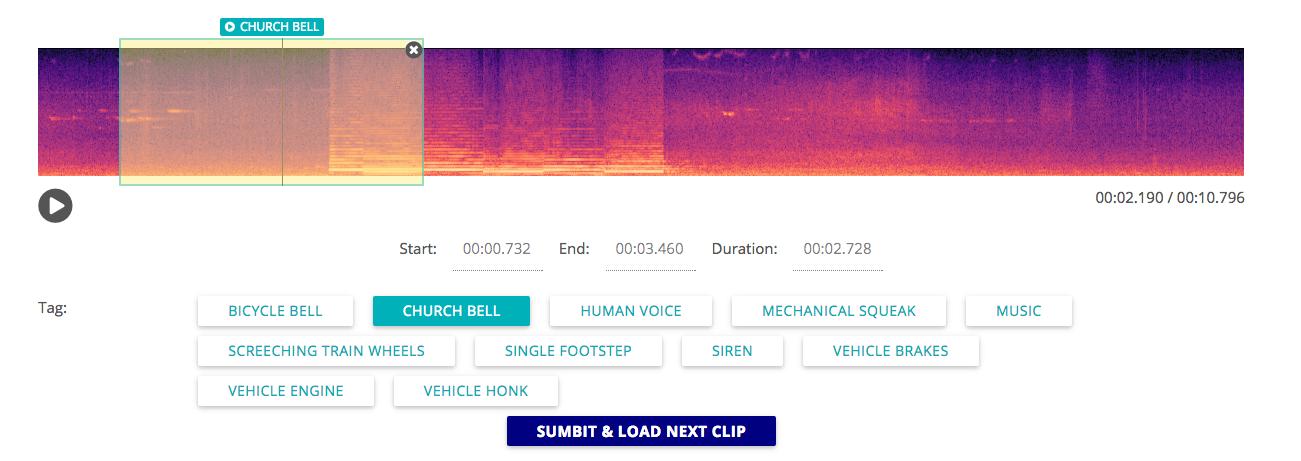 audio-annotator screenshot