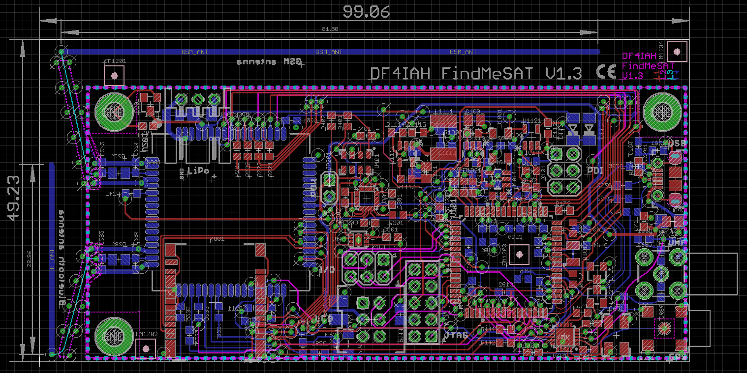 current PCB overview
