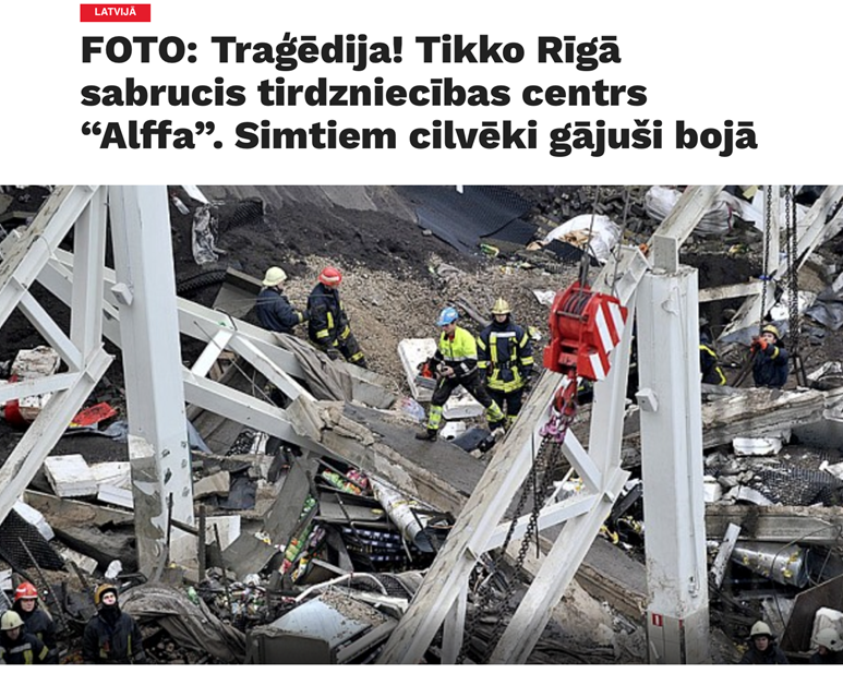 #BalticBrief: False Story About Collapsed Mall Doesn't Hold Up.