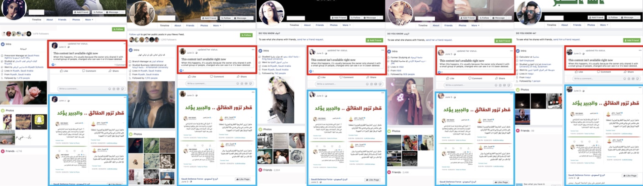 Royally Removed: Facebook Takes Down Pages Promoting Saudi Interests.