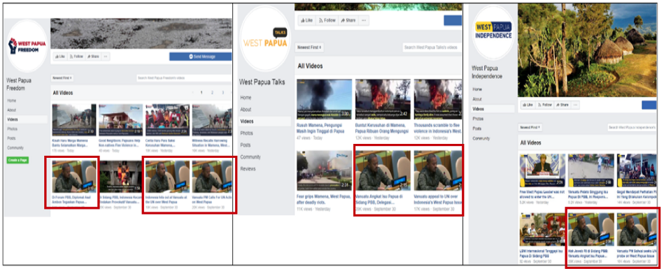 Facebook Takes down Pro-Indonesian Pages Targeting West Papua.
