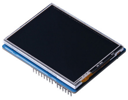 """2.8"""" TFT Touch Shield with 4MB Flash for Arduino and mbed"""