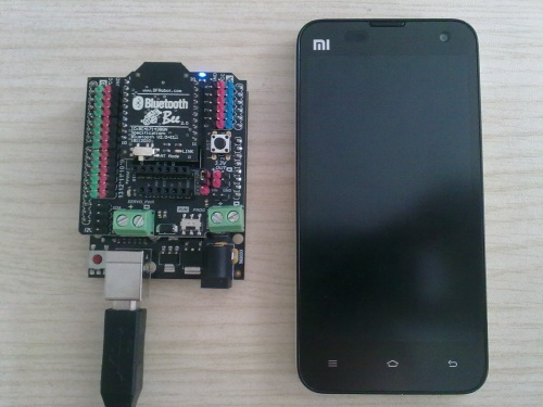 Bee/XBee Bluetooth socket