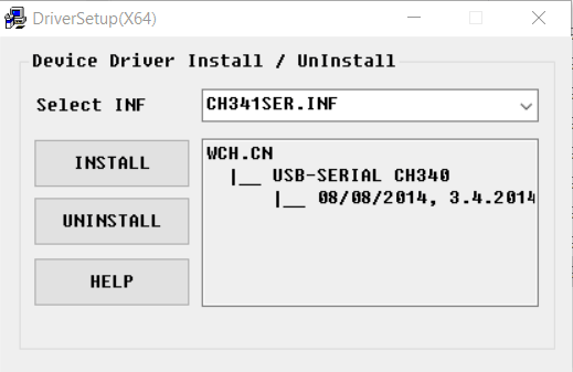 Driver Install