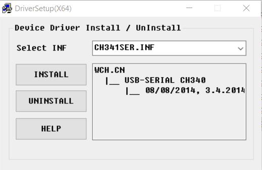 CH340 Driver