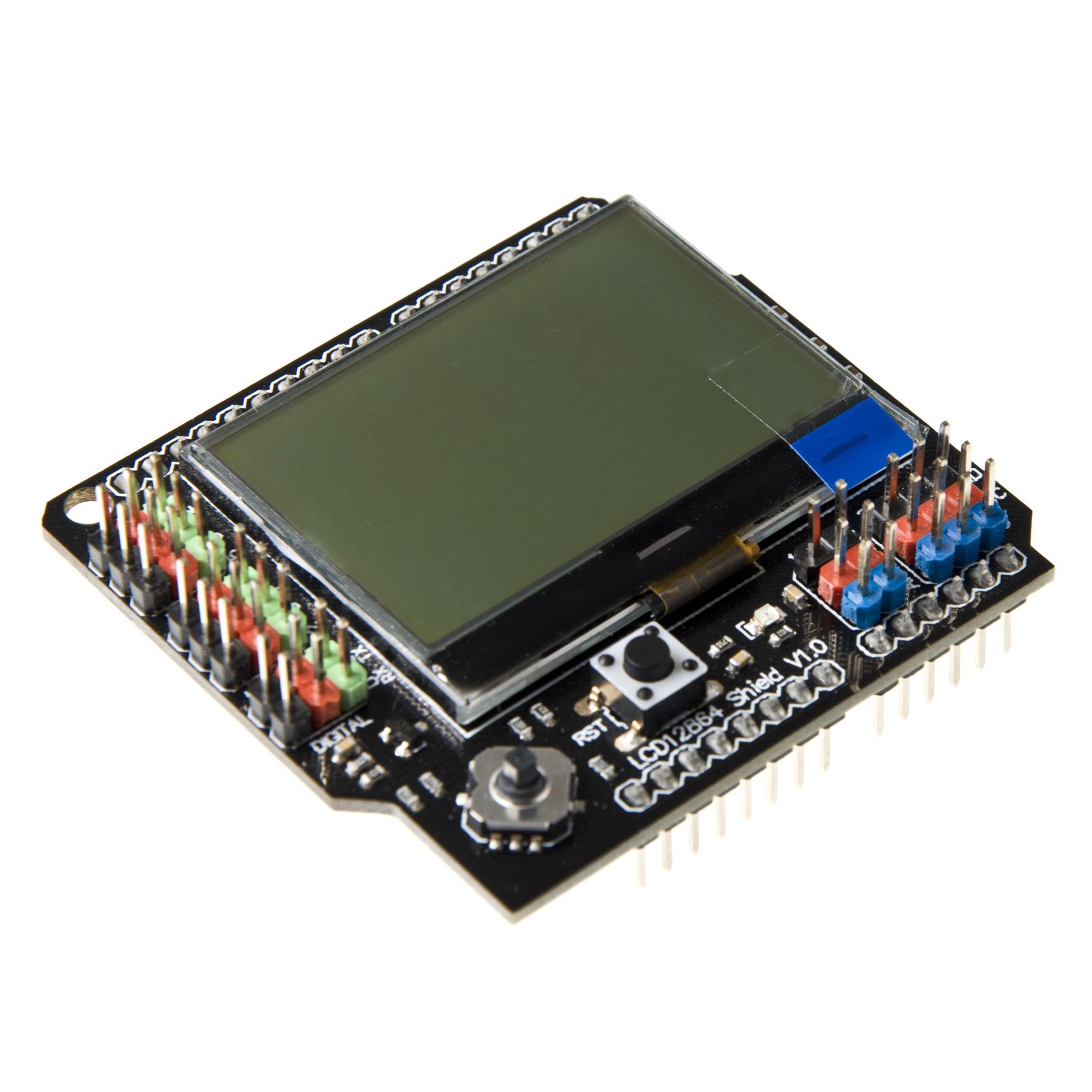 LCD12864_Shield_SKU_DFR0287-DFRobot