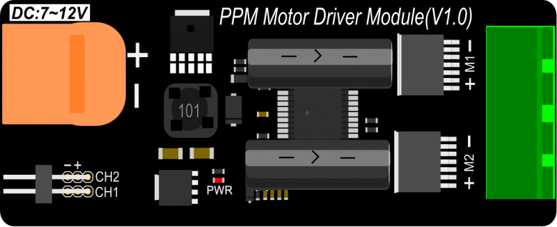 Motor Driver Front