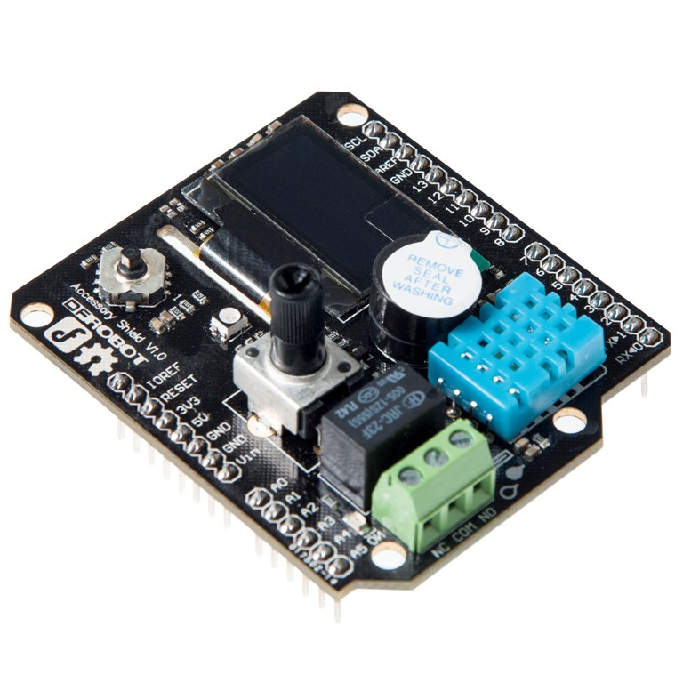Accessory Shield for Arduino SKU:DFR0270