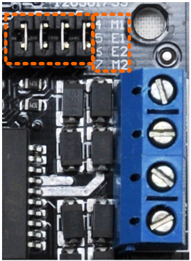 Figure 5 PWM Motor Control Pin Allocation
