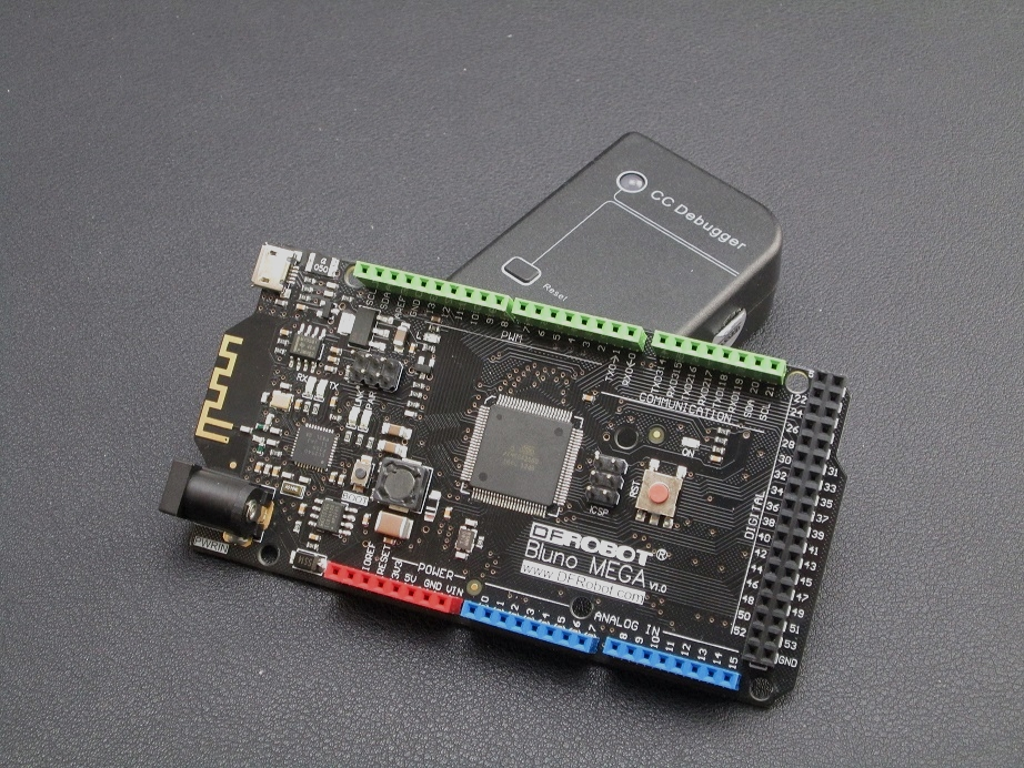 Flash DFRobot BLE device by CC Debugger(TI)