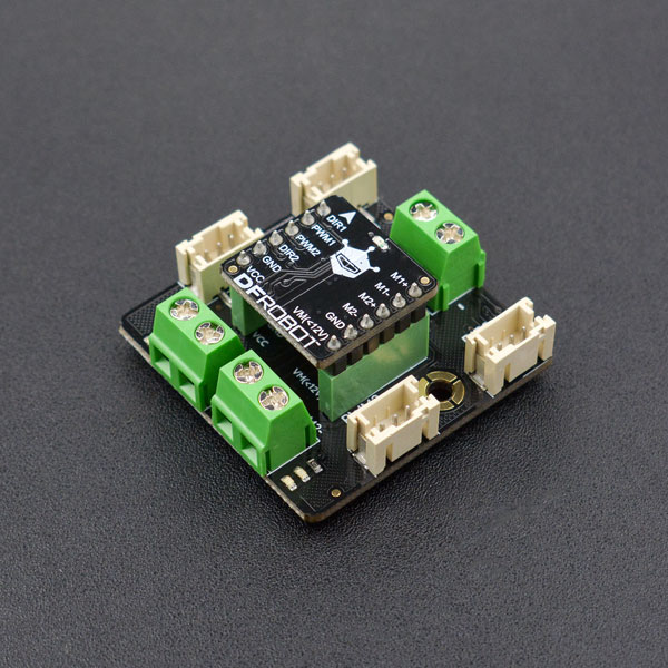 2x1.2A DC Motor Driver with Gravity Connector