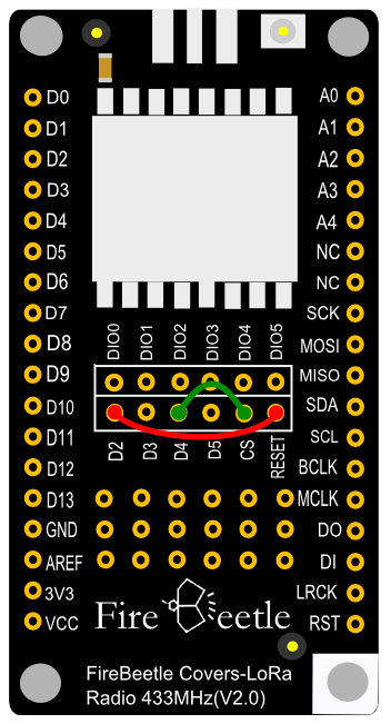 Fig2: Firebeetle_Covers-433MHz-Connect_CS\&RESET