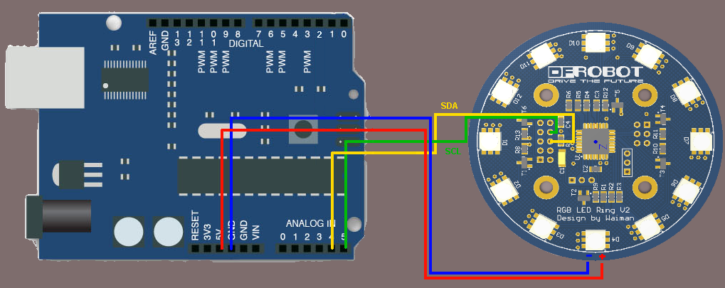 I2C connection