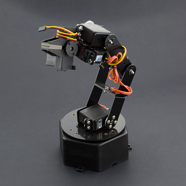 6 DOF Robotic Arm Kit