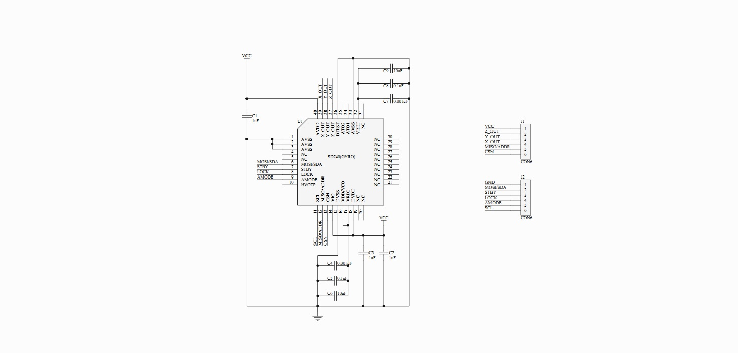 SD740 Schematic