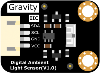 Gravity: I2C VEML7700 Ambient Light Sensor