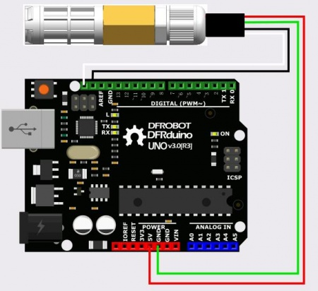 Arduino SHT20 Temperature & Humidity Sensor Connection