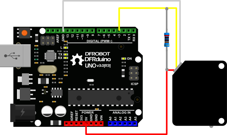 Adjustable Infrared Sensor Switch Dia