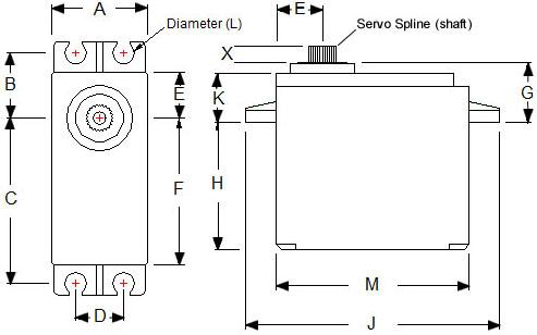 Standard Servo Schematic
