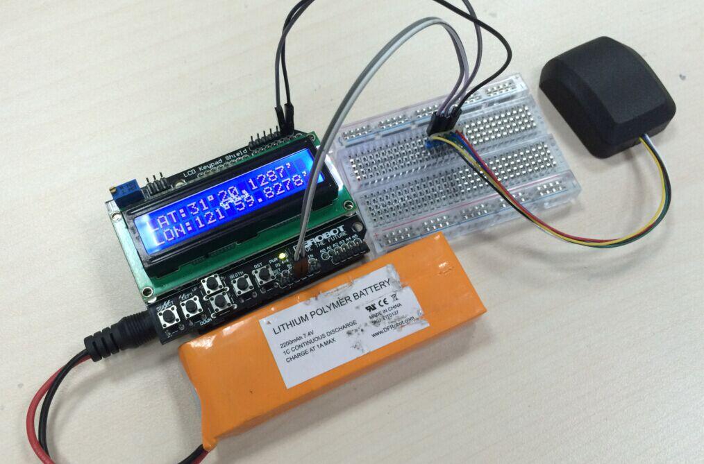 Gps Module With Enclosure Sku Tel0094 Dfrobot