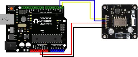 Arduino connection Diagram