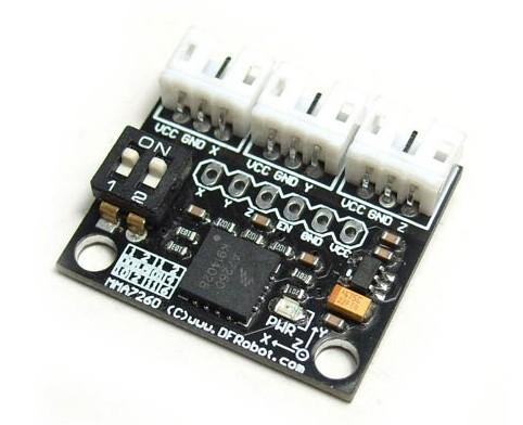 Triple Axis Accelerometer MMA7260 (SKU: DFR0068)
