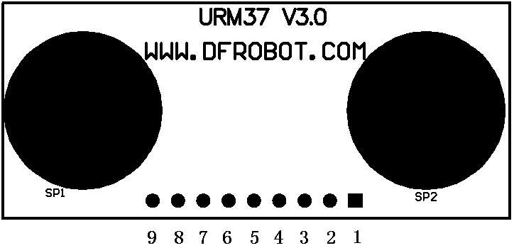 Figure 2: URM37 V3.2 Pin Definition