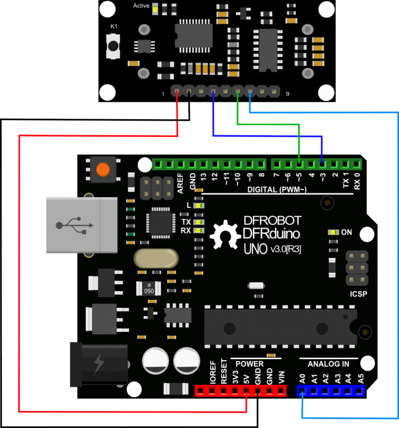 URM37 V4.0 Ultrasonic Sensor