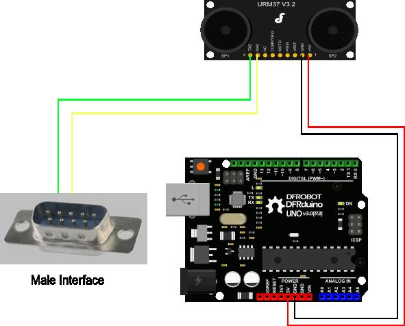 RS232 Mode Connection Diagram