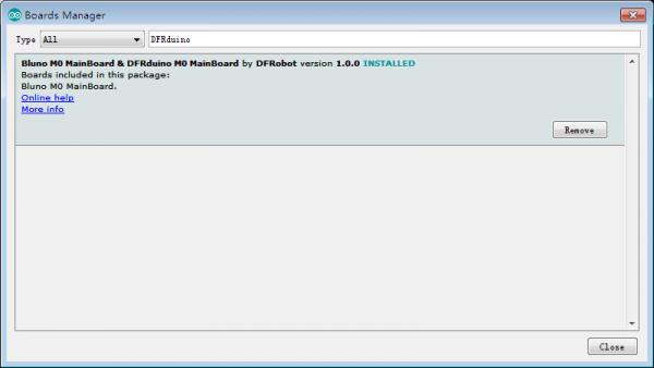 Install DFRduino M0 MainBoard
