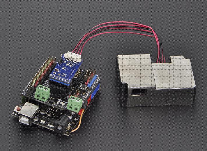 Pm2 5 Laser Dust Sensor Sku Sen0177