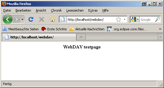 WebDAV XAMPP · DLR-SC/DataFinder Wiki · GitHub
