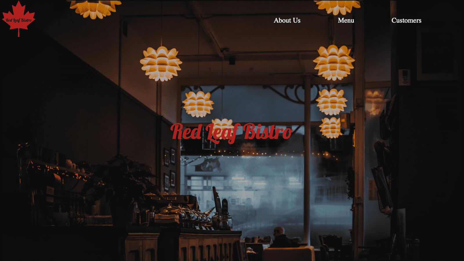 Red Leaf Bistro