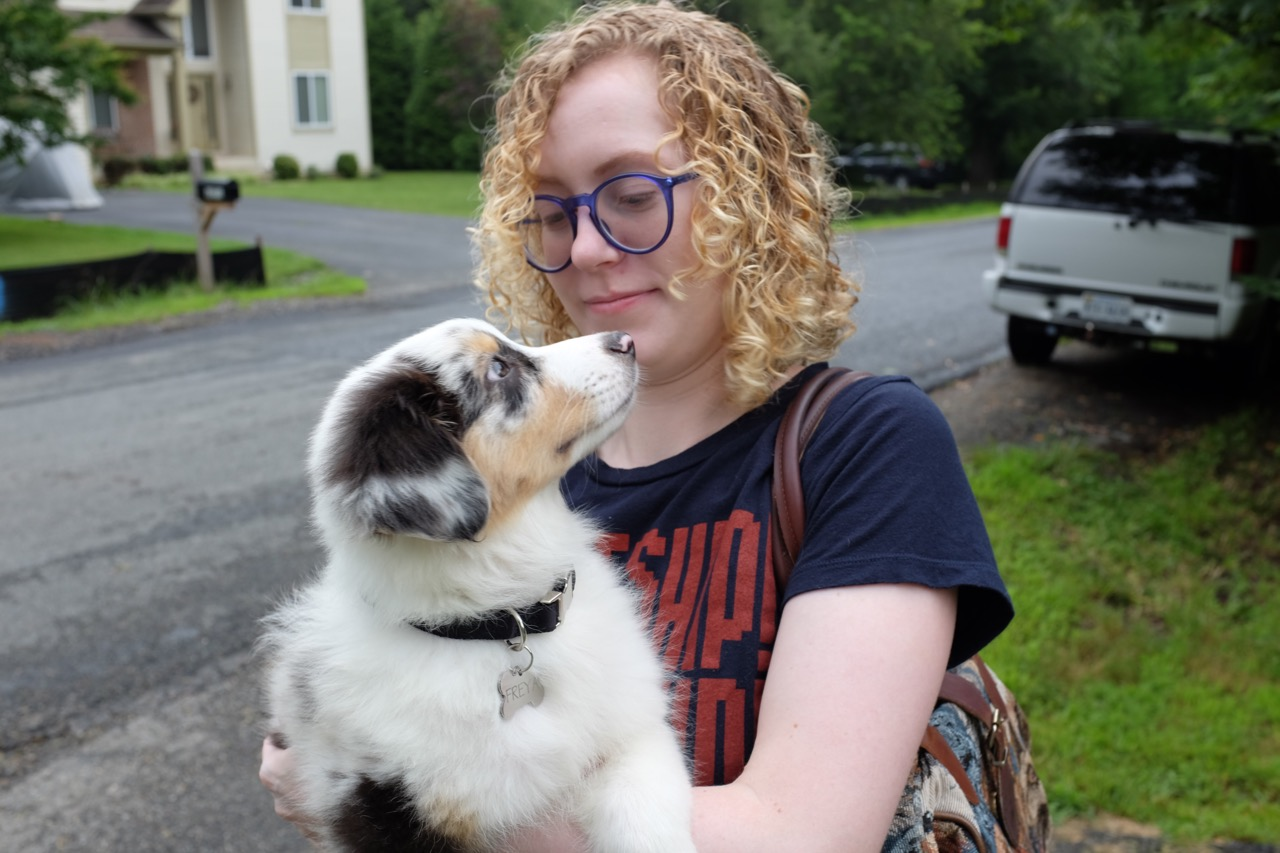 Puppy Example Photo with Cassie