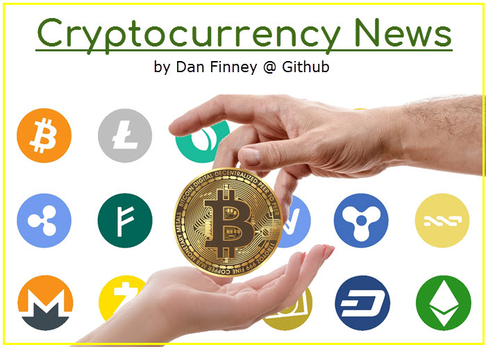 Cryptocurrency news by https://danfinney.github.io/