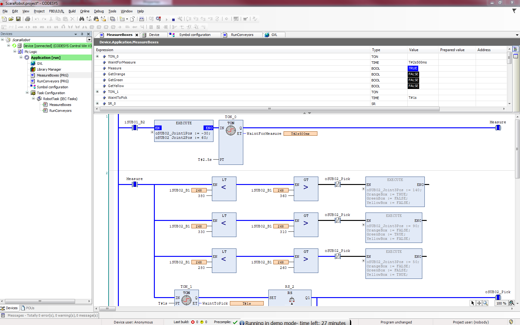 Github Danielmartensson Plc Simulations A Collection Of Plc Simulations With Codesys V3 Siemens Logo And Ix Developer
