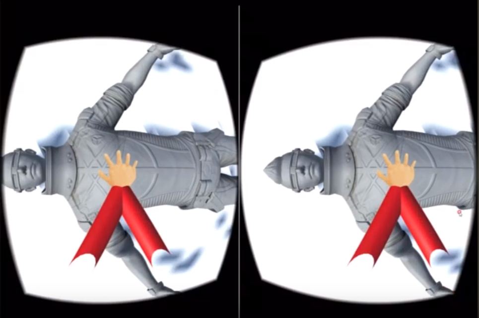 VR Simulation : CPR -   <p>统一를 이용한 가상현실 심폐소생술 교육 프로그램  </p> <p><IMG1TAG></IMG1TAG></p> <p>를 이용한 가상현실 심폐소생술 교육 프로그램 https://user-images.githubusercontent.com/49131724/128904413-74ee2031-f40a-4170-8a89-f2512bf6e377.mov </p> <p><iframe title=