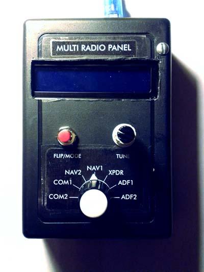 A little multi radio panel I made - Cockpit Designers - X