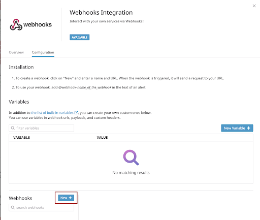 webhooks-config