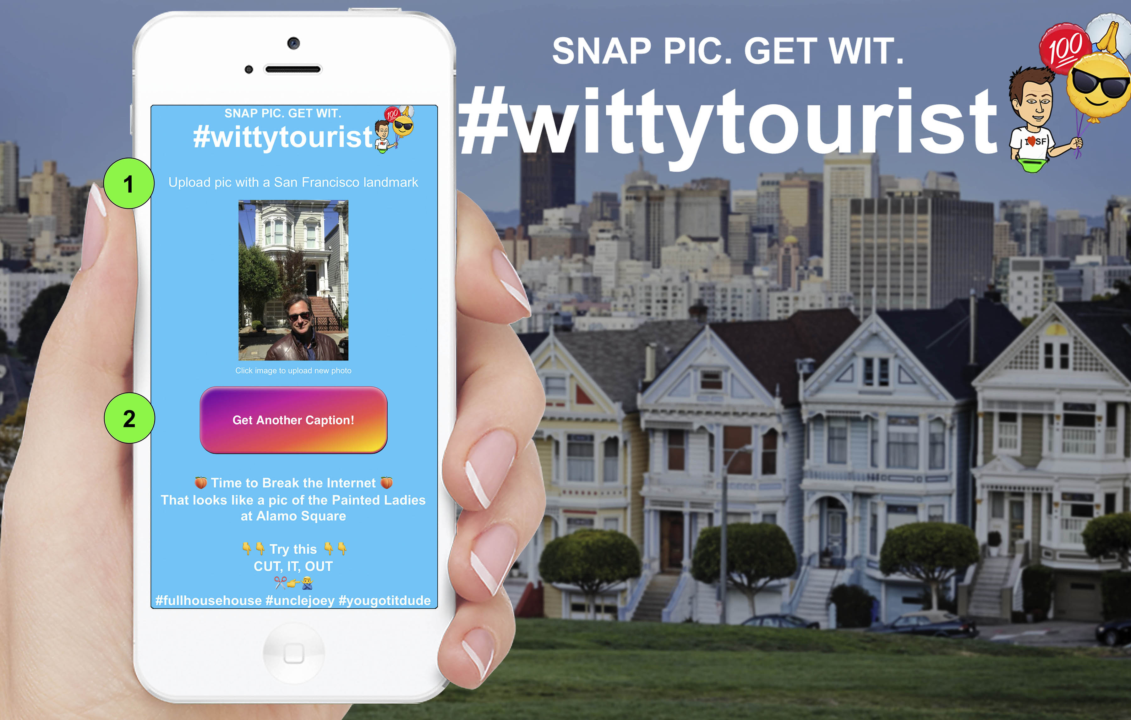 Snap Pic, Get Wit #wittytourist