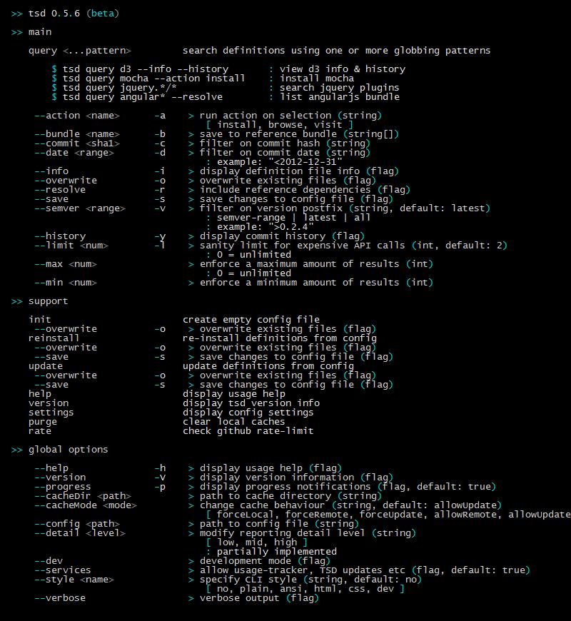 Github definitelytypedtsd deprecated typescript definition commands stopboris Images