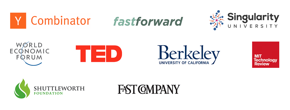 Grants, awards and support from these leading organizations.
