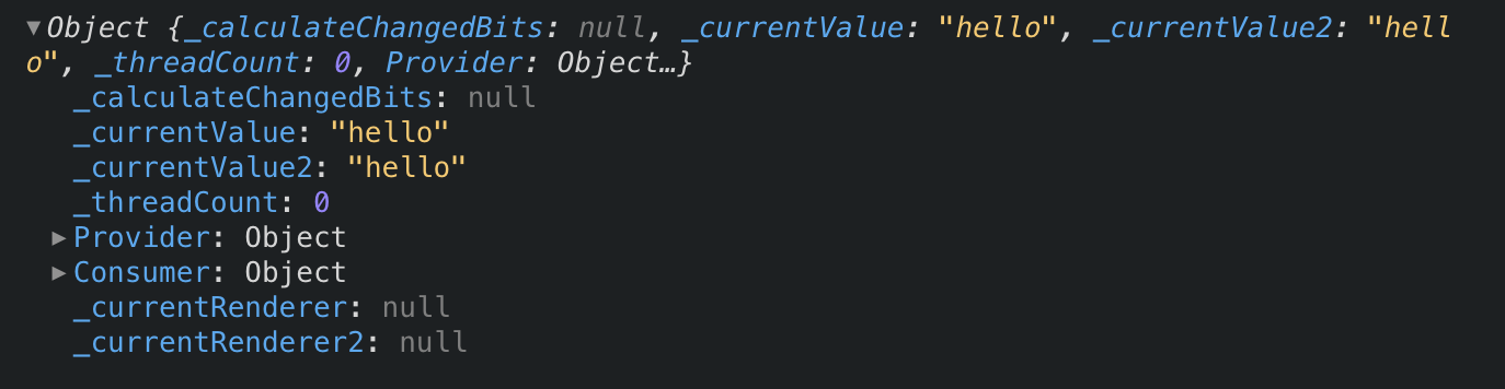 context object