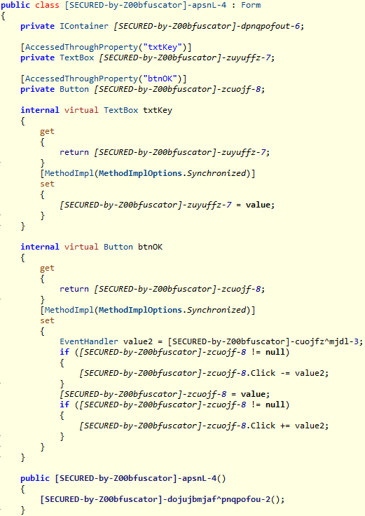 Example .NET File - Class
