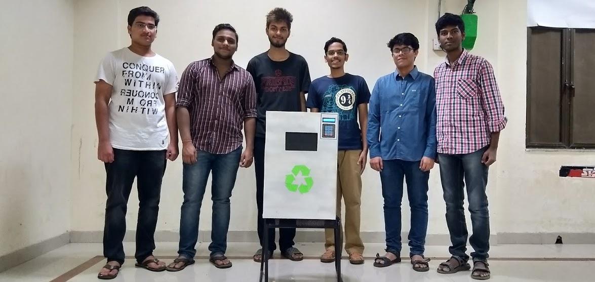 Recyclotron 5000 team