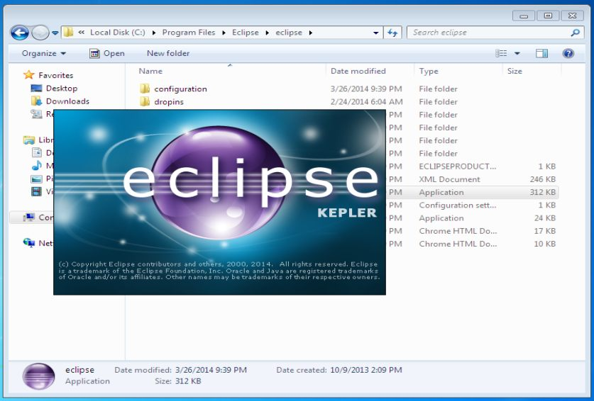Open Eclipse